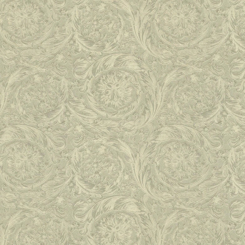 Versace Wallpaper Collection  Barocco Metallic Pale Gold | 36692-1