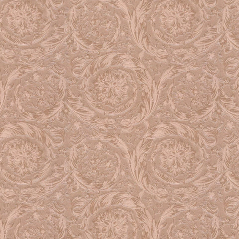 Versace Wallpaper Collection Barocco Metallic Rose Gold | 36692-2