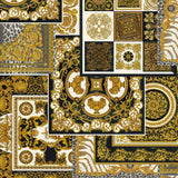 Versace Wallpaper Collection | Oriental Tile Black | 37048-3