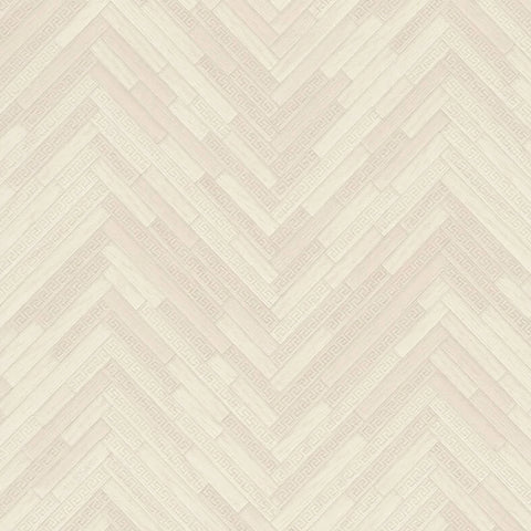 Versace Wallpaper Collection | Eterno Tile Ivory | 37051-5