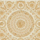 Versace Wallpaper Collection | Heritige Ivory/Gold | 37055-2