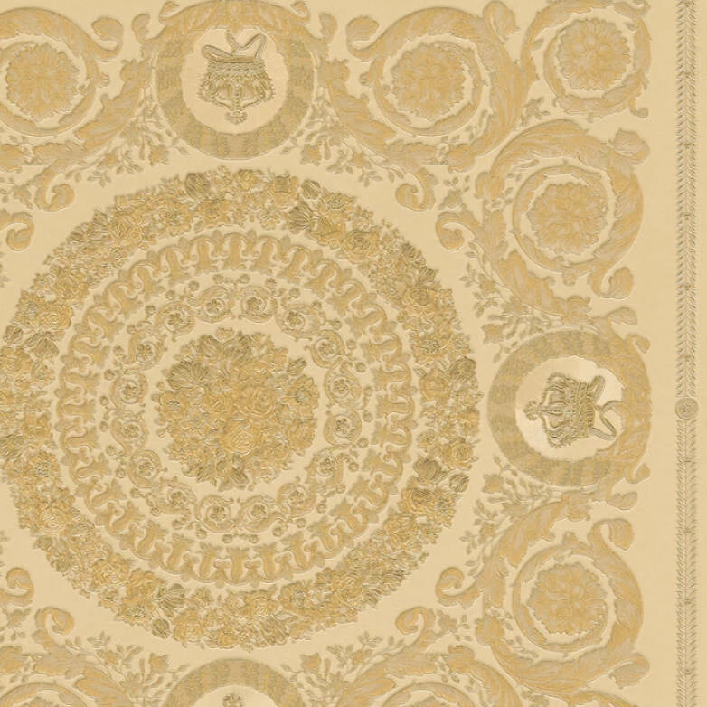 Versace Wallpaper Collection | Heritage Gold | 37055-4