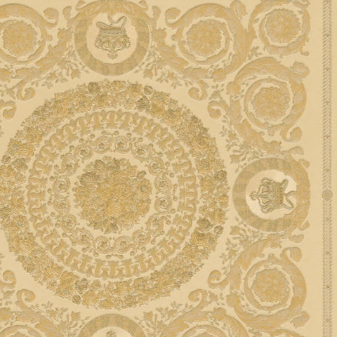 Versace Wallpaper Collection | Heritige Gold | 37055-4