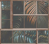 Tropical Panel Green/Neutral | AS Creation Wallpaper | 37740-1