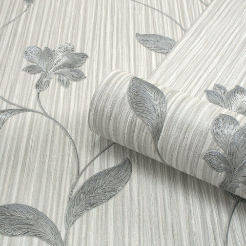 Belgravia Seriano Wallpaper | Livenza Pearl/Grey | GB4366