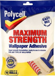 Polycell Max Strength Paste 195G