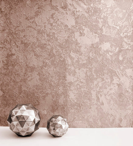 SALE Rasch Wallpaper | Cascata Texture Rose Gold | 520644