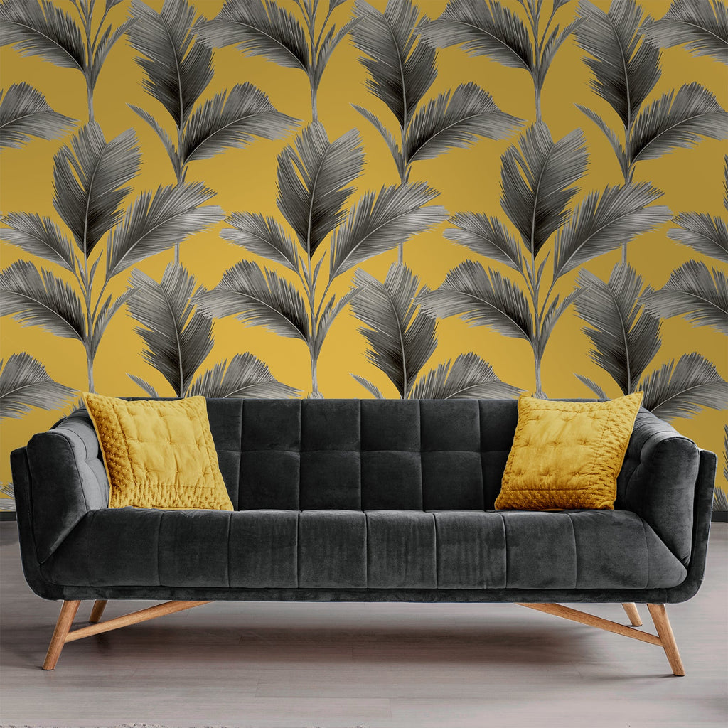 Kailani Yellow | Belgravia Wallpaper | 59118