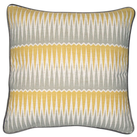 Magnus Mustard/Grey Cushion