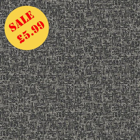 SALE Holden Statement Wallpaper | Mayim Texture Black/Silver | 97963
