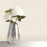 Organica Texture Ivory Wallpaper | Belgravia Decor GB6093