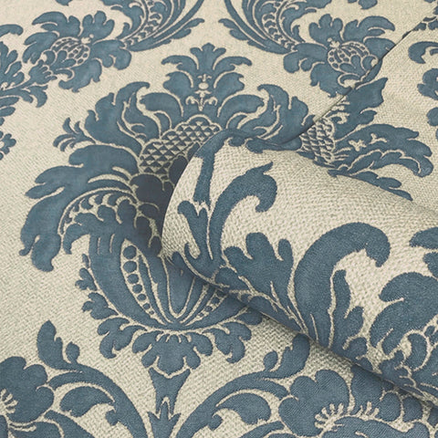 Belgravia Decor Wallpaper | San Remo Damask Navy | GB6524