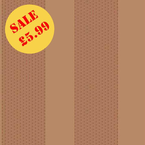 SALE Arthouse Wallpaper | Selina Stripe Copper | 673500