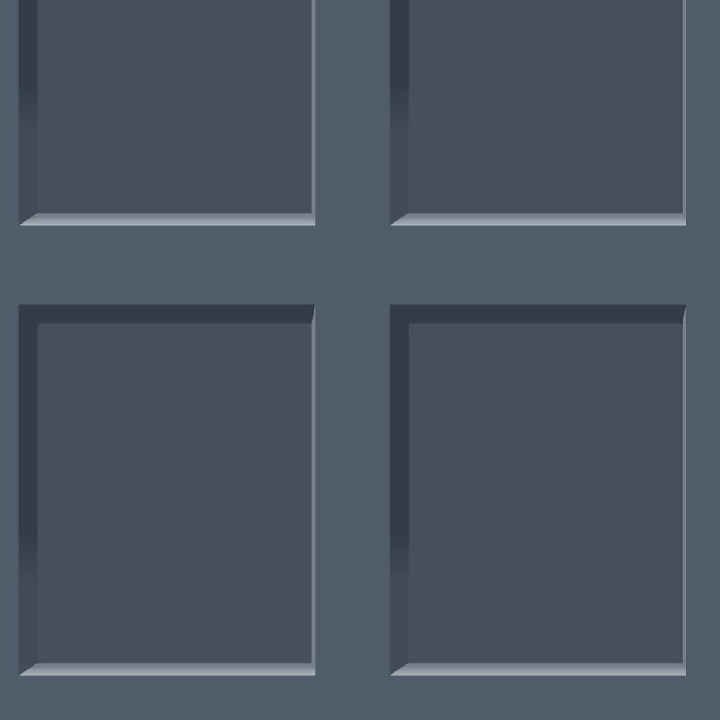 Heritage Wood Panel Navy | Debona Wallpaper | 6742