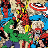 Graham & Brown Wallpaper | Marvel Superheros Multi | 70-467