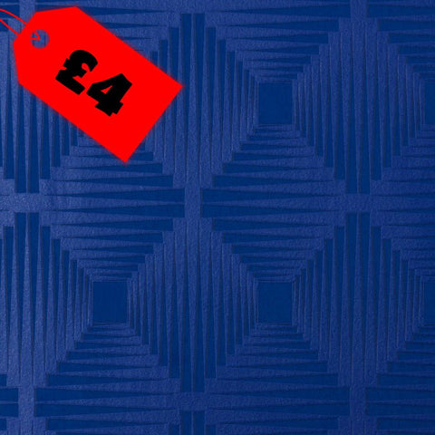CLEARANCE Kids Wallpaper | Geo Texture Royal Blue | 469929