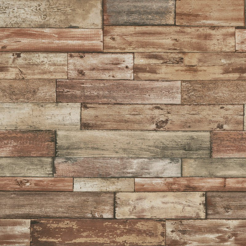Erismann Wallpaper Natureline Scrap Wood Neutral 7319 11