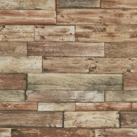 Erismann Wallpaper | Natureline Scrap Wood Neutral | 7319-11