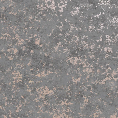 Obsidian Grey/Rose Gold | Holden Wallpaper | 75961