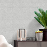 Giorgio Texture Silver Wallpaper | Belgraiva Decor GB8106