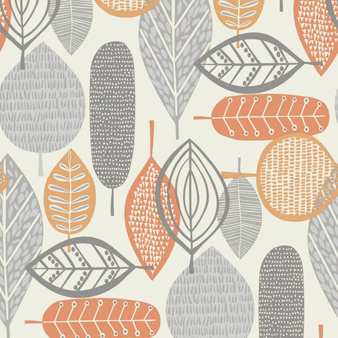 Arthouse Wallpaper | Malmo Orange | 902301