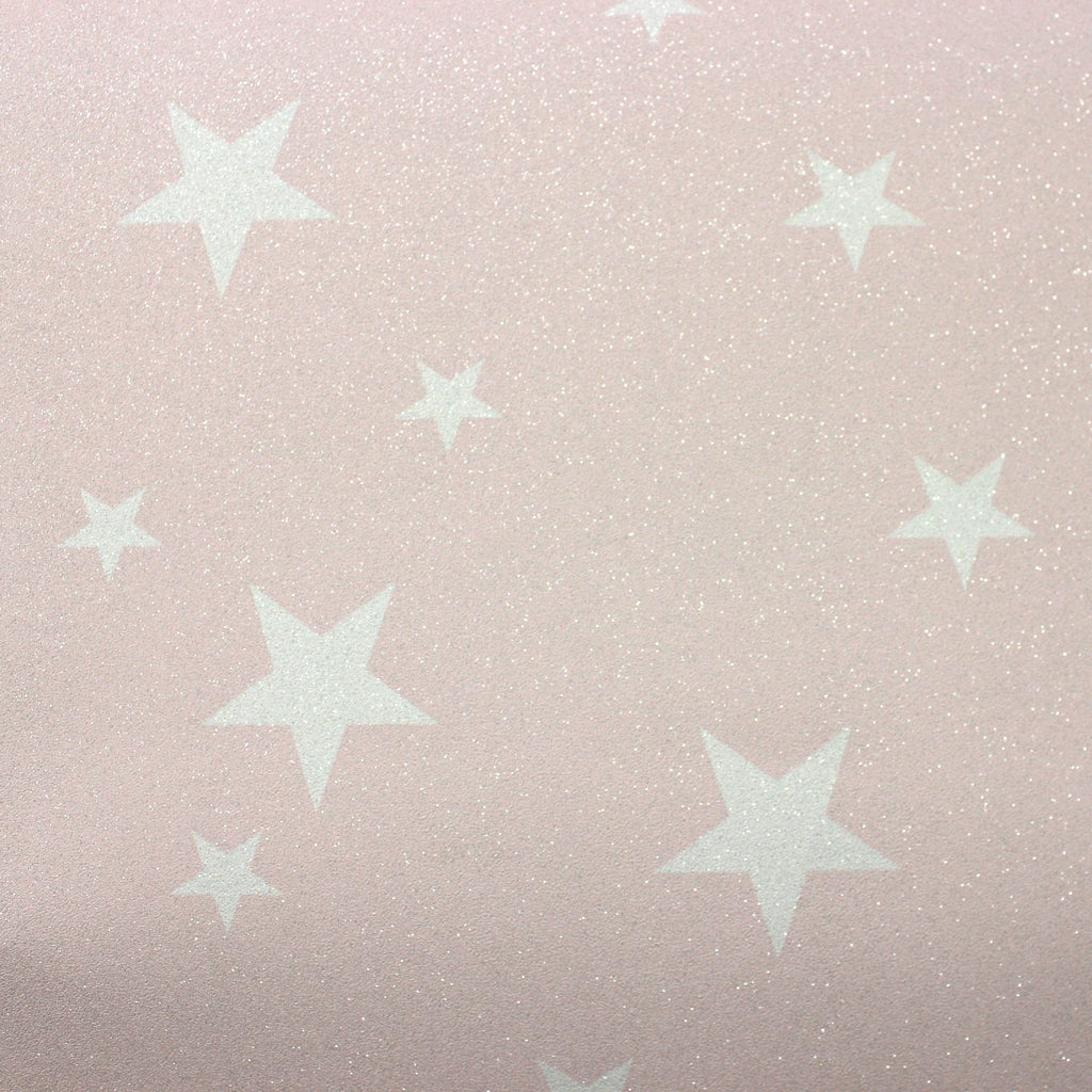 Arthouse Wallpaper | Diamond Stars Blush Pink | 905009