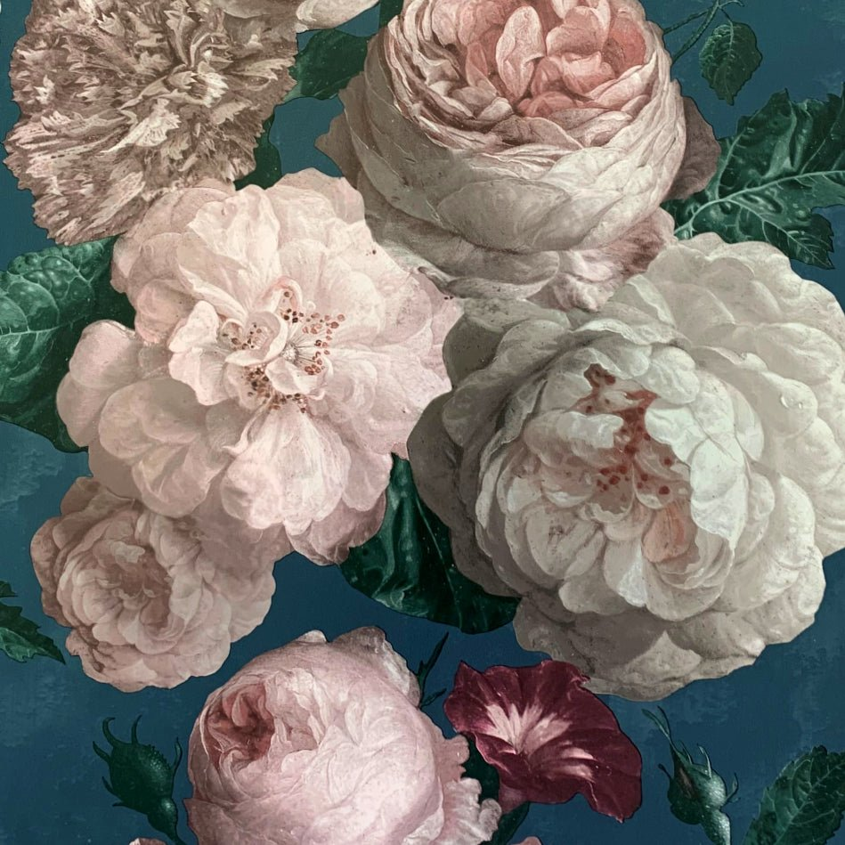 Highgrove Floral Teal