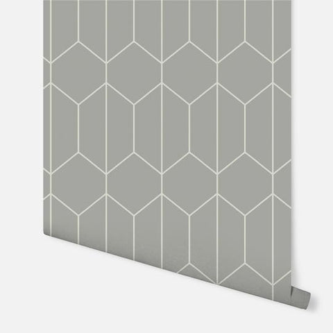 Linear Geo Soft Grey | Arthouse Wallpaper | 909700