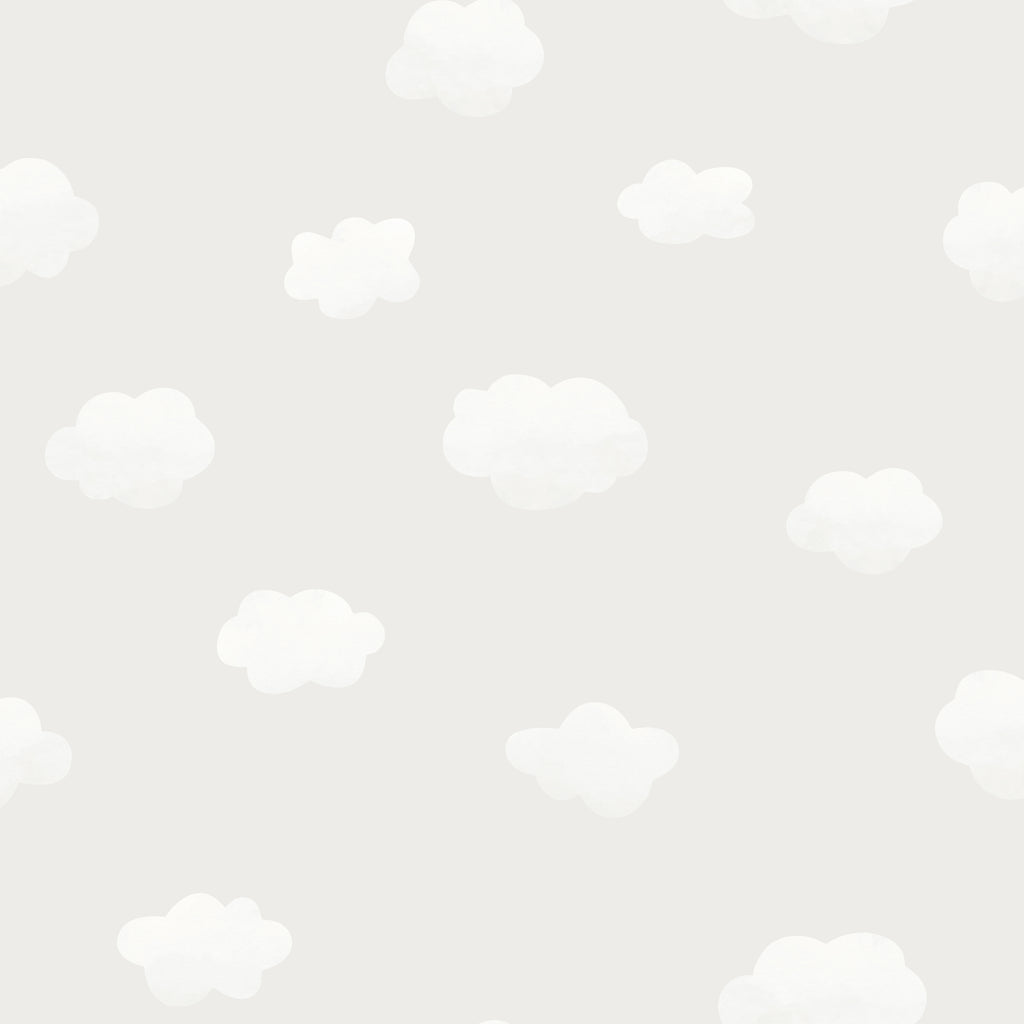 Kids Holden Wallpaper | Cloudy Sky Grey | 90990