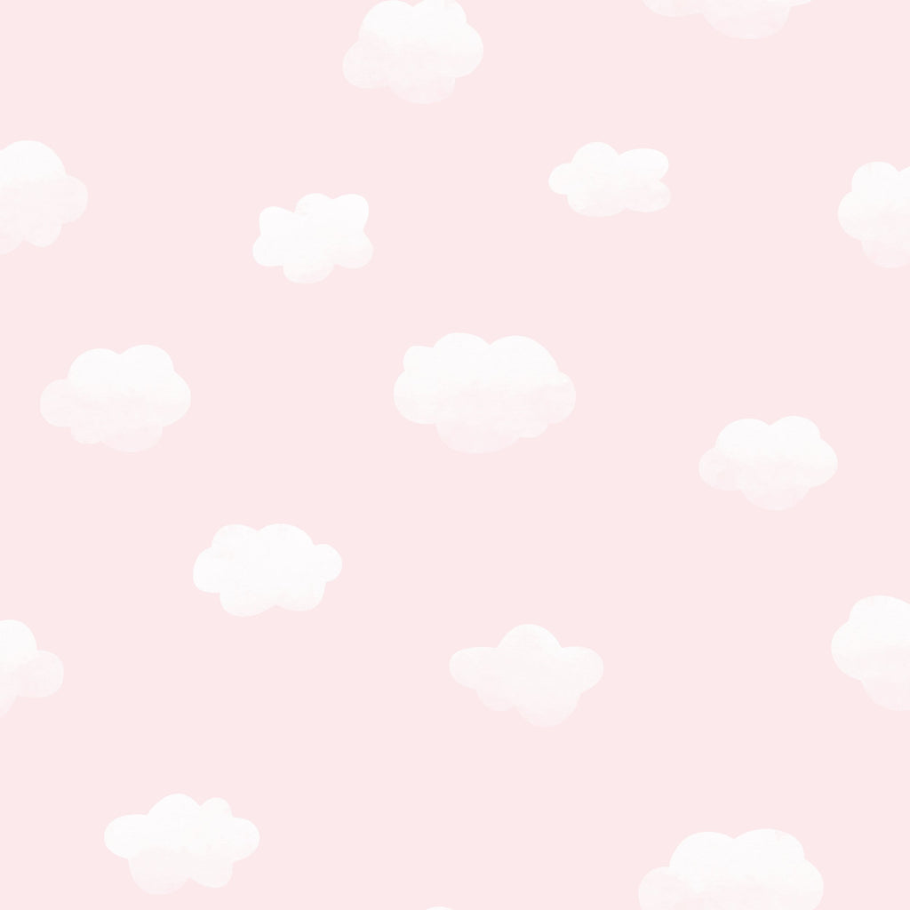 Kids Holden Wallpaper | Cloudy Sky Pink | 90992