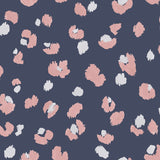 Amur Navy/Pink Wallpaper | Holden 91071 | Exotic Wallpaper