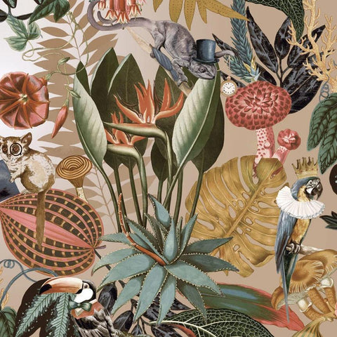 Reverie Gold Wallpaper | Holden 91171 | Tropical Wallpaper
