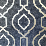 Calico Trellis Navy | Arthouse Wallpaper | 921402