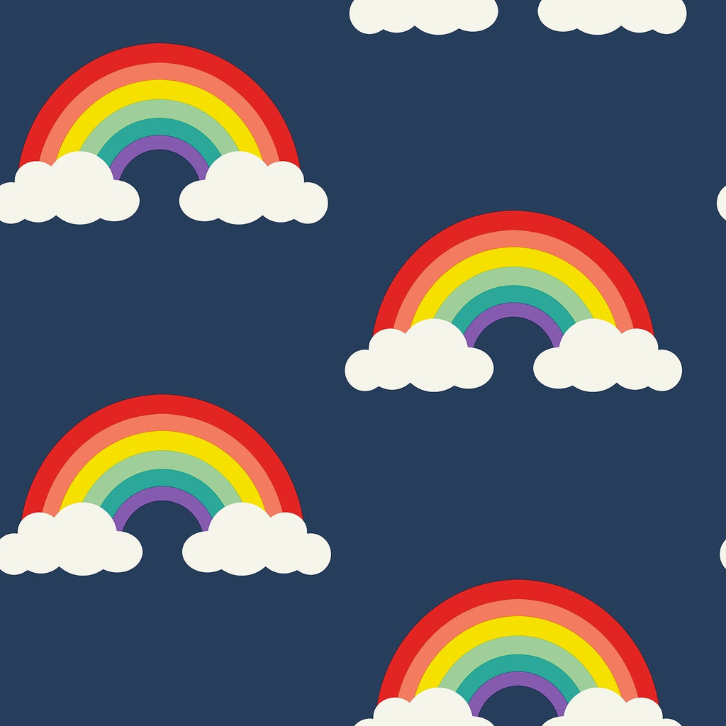 Look For Rainbows Navy