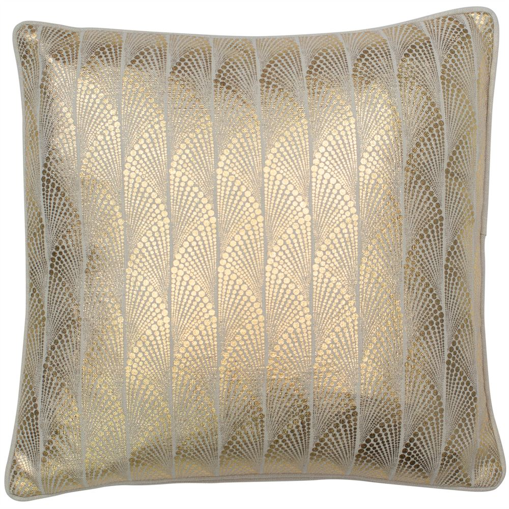 Addison Gold Foil Cushion | Feather Filled | Malini  Designs
