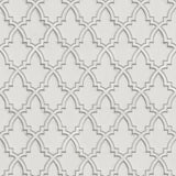 Stitch Trellis Silver/Grey | Design id DecorTex | DE120021