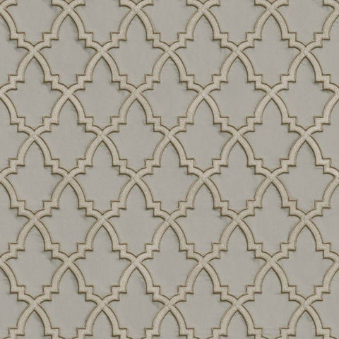 Stitch Trellis Stone | Design id DecorTex | DE120024