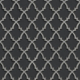 Stitch Trellis Black/Silver | Design id DecorTex | DE120028