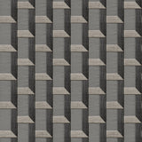 Stitch Geometric Charcoal | Design id DecorTex | DE120075