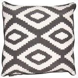 Dorado Black Cushion | Feather Filled | Malini Designs