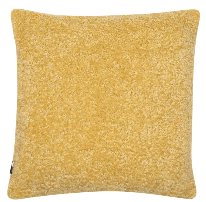 Essence Mustard Cushion | Malini Designer Cushions | WonderWall