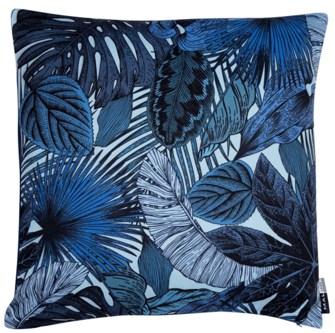 Elena Blue Cushion | Malini Designer Cushions | WonderWall
