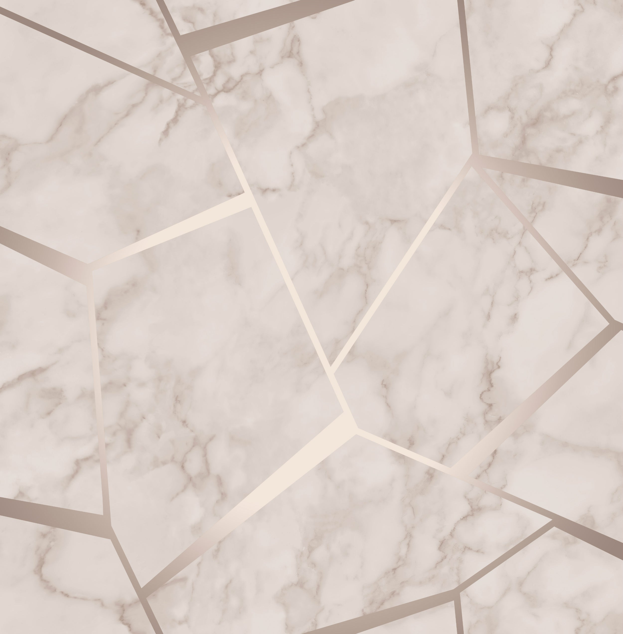 Fractal Marble Rose Gold Fd42264 on Pink And Brown Bathroom Decor