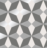 Fine Decor Wallpaper | Nova Geo Silver/Grey | FD42549