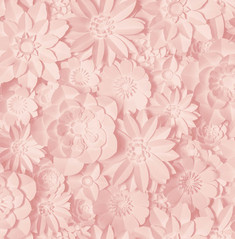 Fine Decor Wallpaper | Dimensions Floral Blush Pink | FD42555