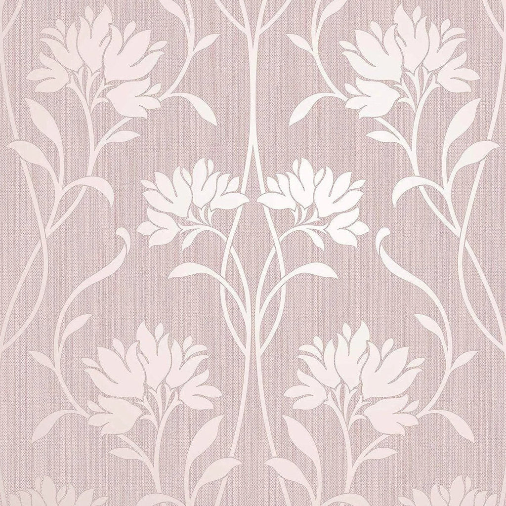 Fine Decor Wallpaper | Florence Floral Blush Pink | FD42583
