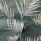 South Beach Green/Pink | Fine Decor FD42679 | Tropical Wallpaper