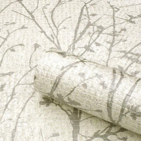 SALE Belgravia Wallpaper | Ravello White/Silver | GB1703