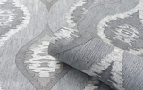 Belgravia Wallpaper | San Marino Wave Grey | GB3715