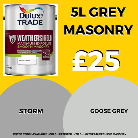 Smooth Masonry 5L - Weathershield